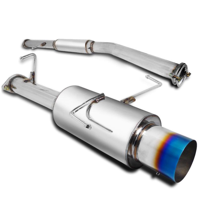 """Spec-D Tuning Jdm 1995-1998 240Sx S14 3"""" Inlet Ss Catback Exhaust Muffler 95 96 97 98"""