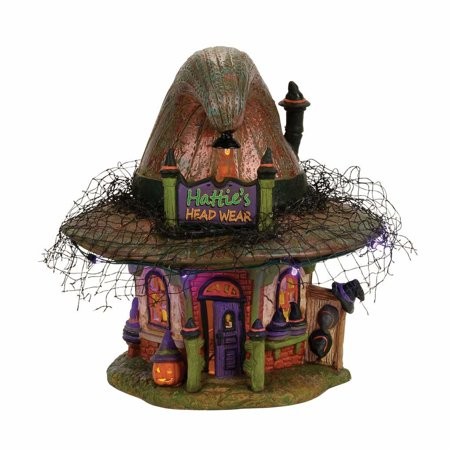 Village Halloween Parade (Dept 56 Snow Village Halloween 4056700 Hattie's Hat)