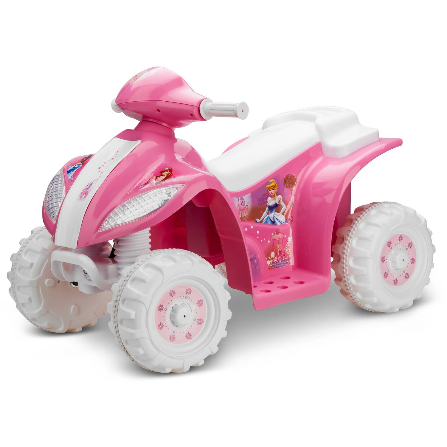 KidTrax Disney Princess Toddler Quad 6-Volt Battery-Powered Ride-On