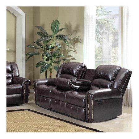 Meridian Furniture Usa Nailhead Reclining Sofa