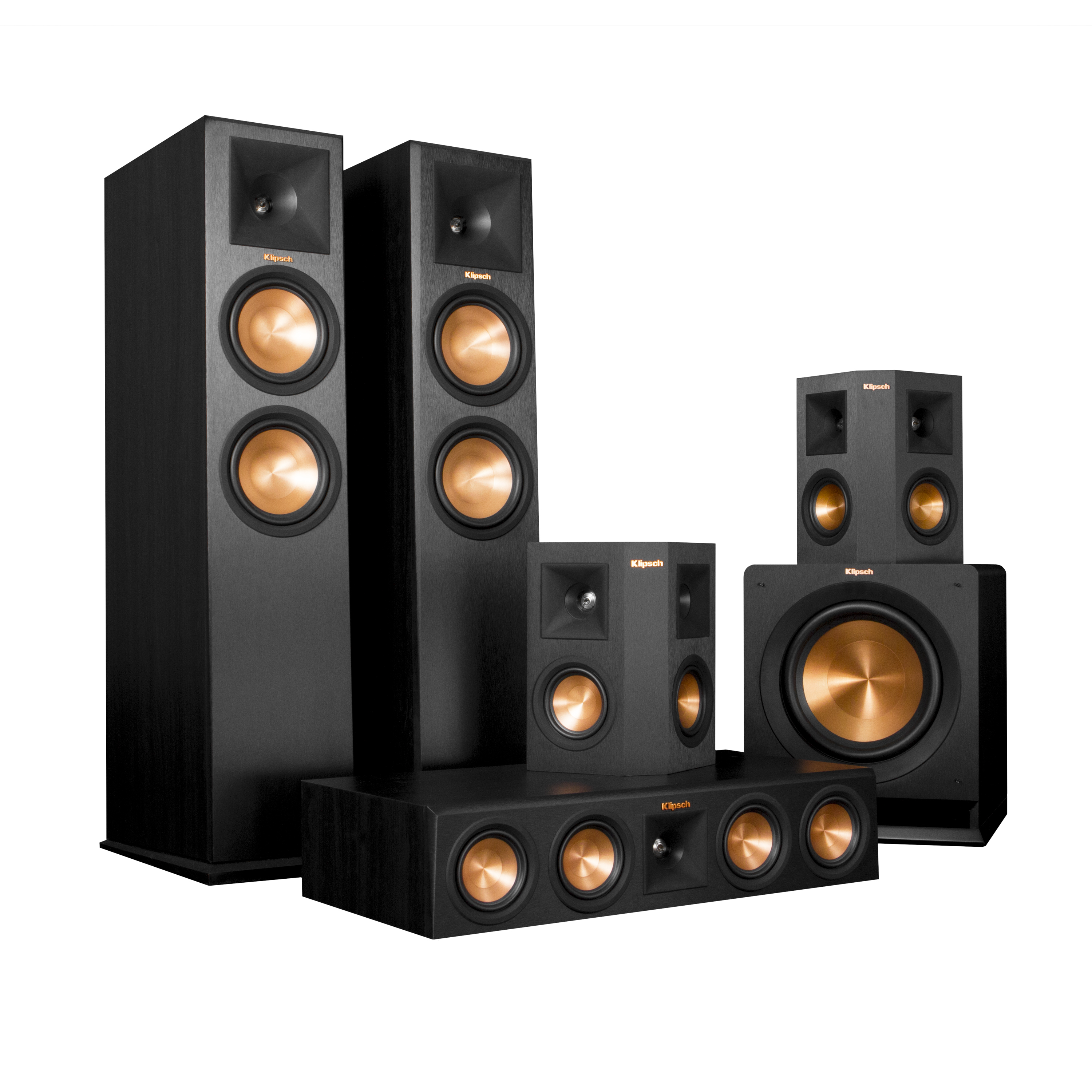 Klipsch 5.1 RP-280 Reference Premiere Speaker Package With R-115SW Subwoofer by Klipsch