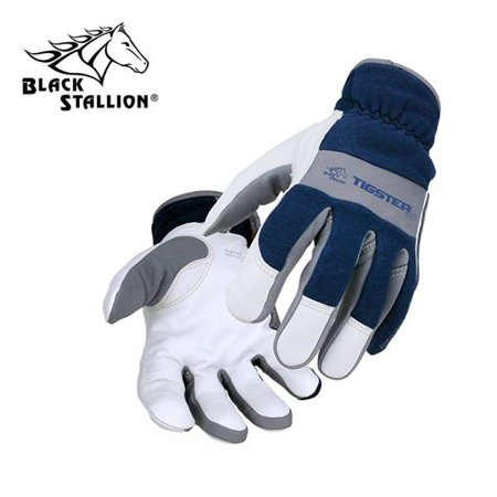 Flame Resistant Gloves - TIGster Premium Flame Resistant Snug Fit Kidskin TIG Welding Gloves - SMALL