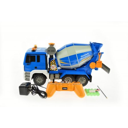 CIS E518-003 1:20 Scale RC Cement Mixer Truck with Lights and Sound