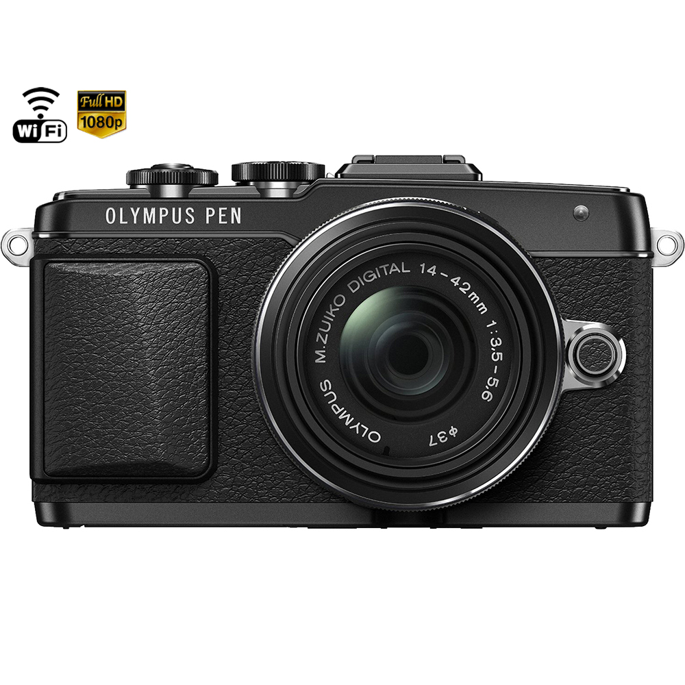 Olympus Pen E-pl7 16.1 Megapixel Mirrorless Camera With L...