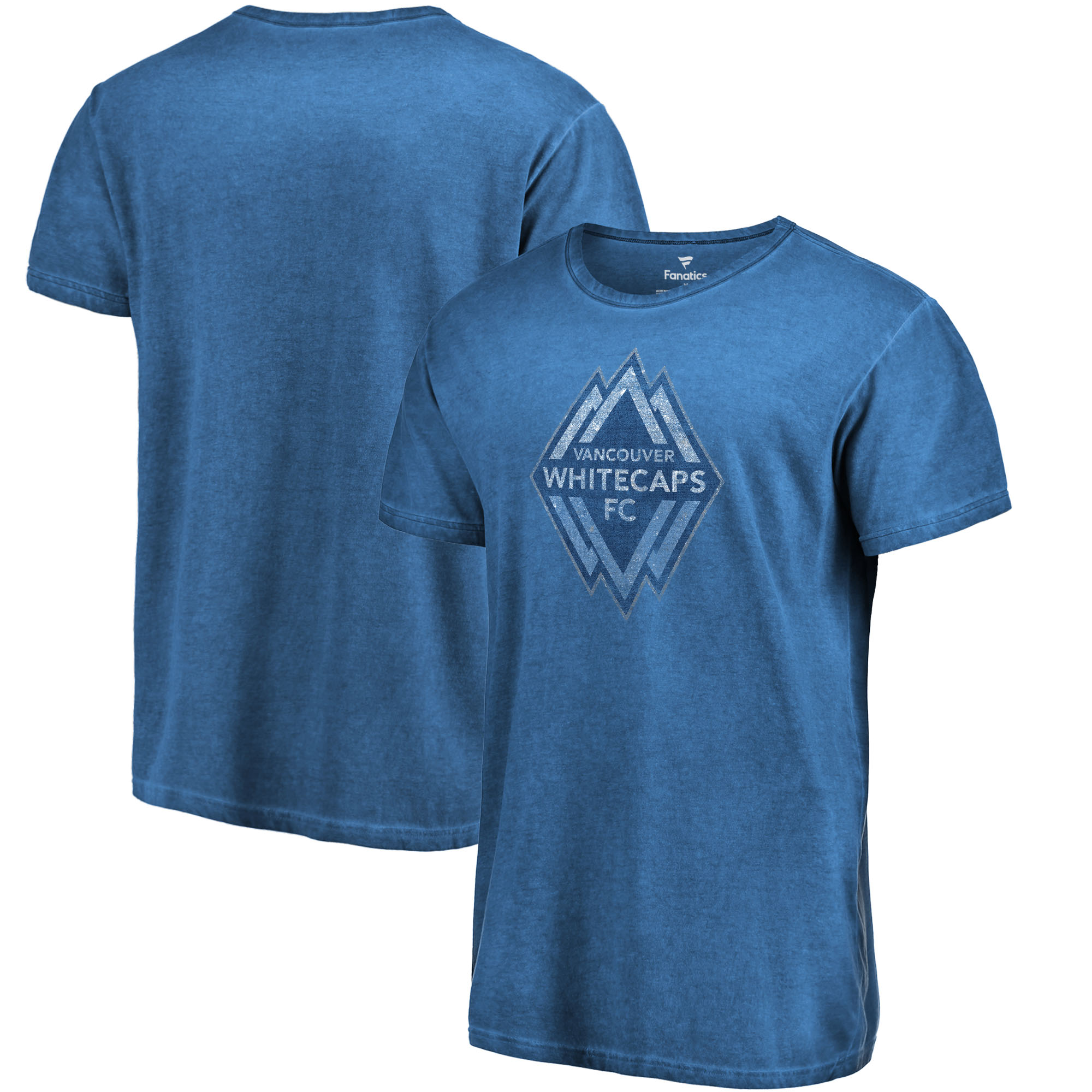 Vancouver Whitecaps FC Fanatics Branded Shadow Washed T-Shirt - Deep Sea Blue