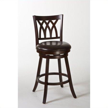 Hillsdale Furniture Tateswood Swivel Bar Stool - Cherry Cherry Unfinished Bar Stool