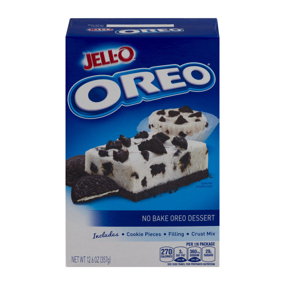Jell-O No Bake Dessert Mix Oreo, 12.6 Oz by Kraft Foods, Inc.