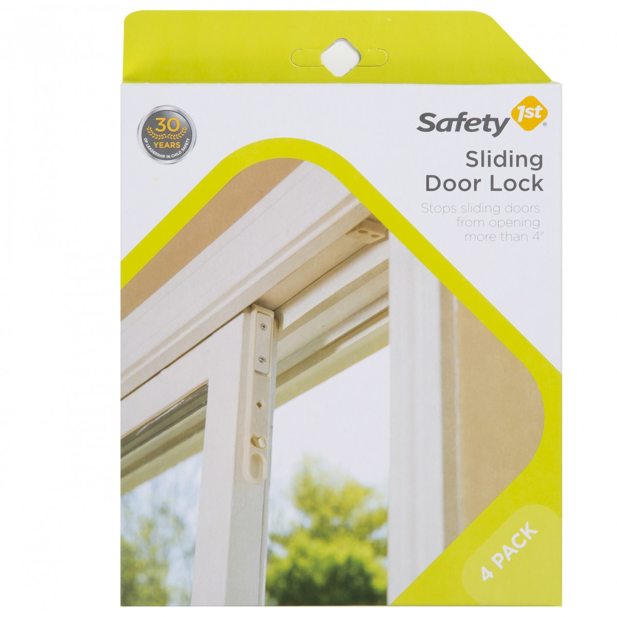 Safety 1st Sliding Door Child Lock 4 Pack