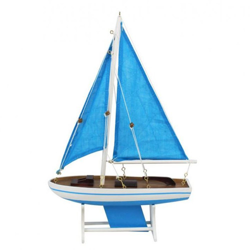 Click here to buy Handcrafted Nautical Decor It Floats Sails Floating Model Sailboat.