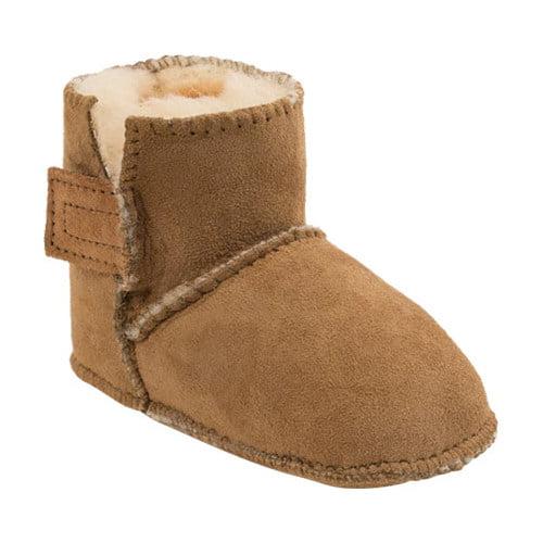 Infant Girls Genuine Sheepskin Pug Boot