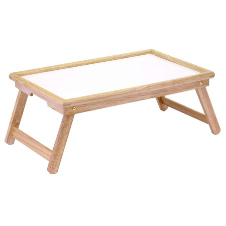 Bed Tray, Sturdy bed tray for serving in bed, on the sofa, or outside on the patio By Winsome
