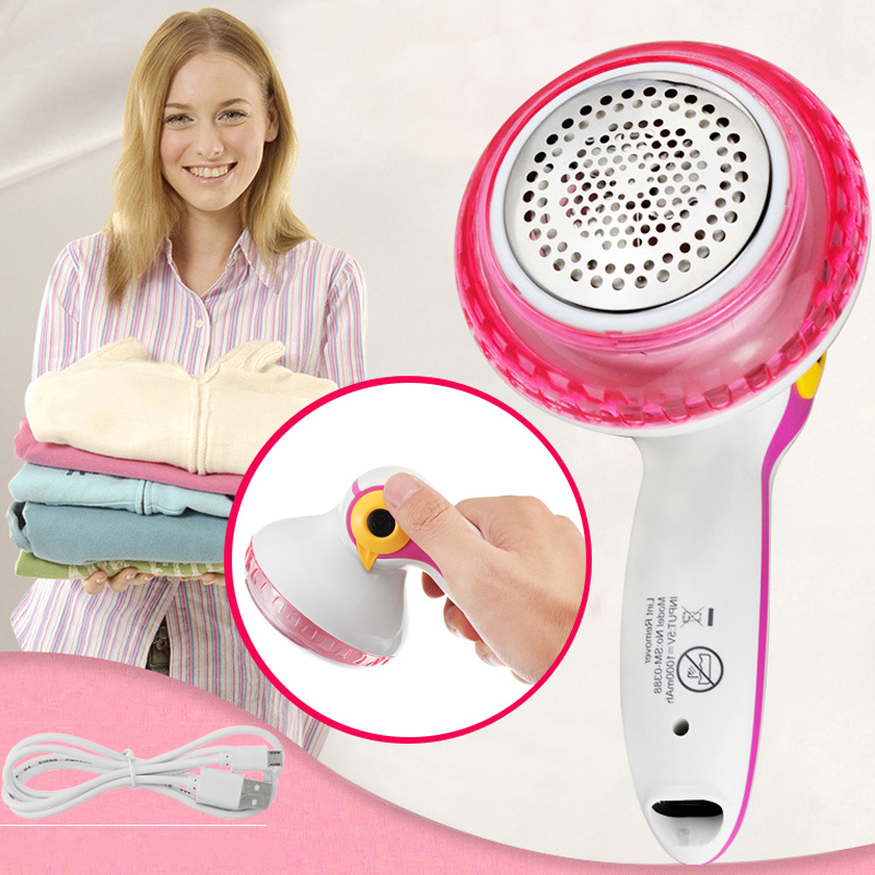 Mini Hair Ball Trimmer Fabric Wool Sweater Clothes Shaver Portable Lint Remover