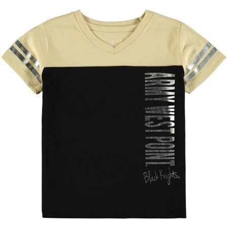 Army Black Knights Colosseum Toddler Girls Cricket T-Shirt - Black - Army Girl