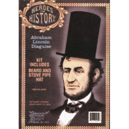 Heroes In History Costumes (Costumes For All Occasions Ru54709 Lincoln Heroes In)