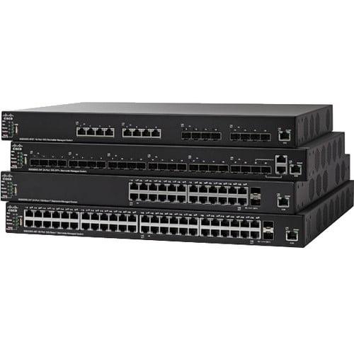 Cisco SG550X-24MP 24-Port Gigabit PoE Stackable Managed Switch SG550X-24MP-K9-NA