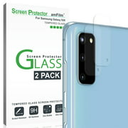 amFilm Samsung Galaxy S20 Back Camera Lens Tempered Glass Screen Protector (2 Pack)