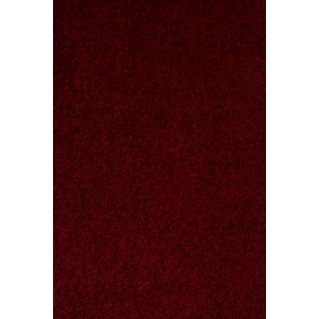 Bright House Solid Color Burgundy 12 X20 Area Rug Walmart Com
