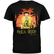 Betty Boop - Hula Boop Black T-Shirt - Large