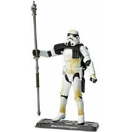 Star Wars Saga Legends Action Figure, Sandtrooper with Exclusive Collector Coin Action Figure Coin