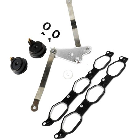 For Mercedes C ML R Metal Flap RK5069 Air Intake Manifold Repair Kit w/Arms 05 06 07 08 09 10 11