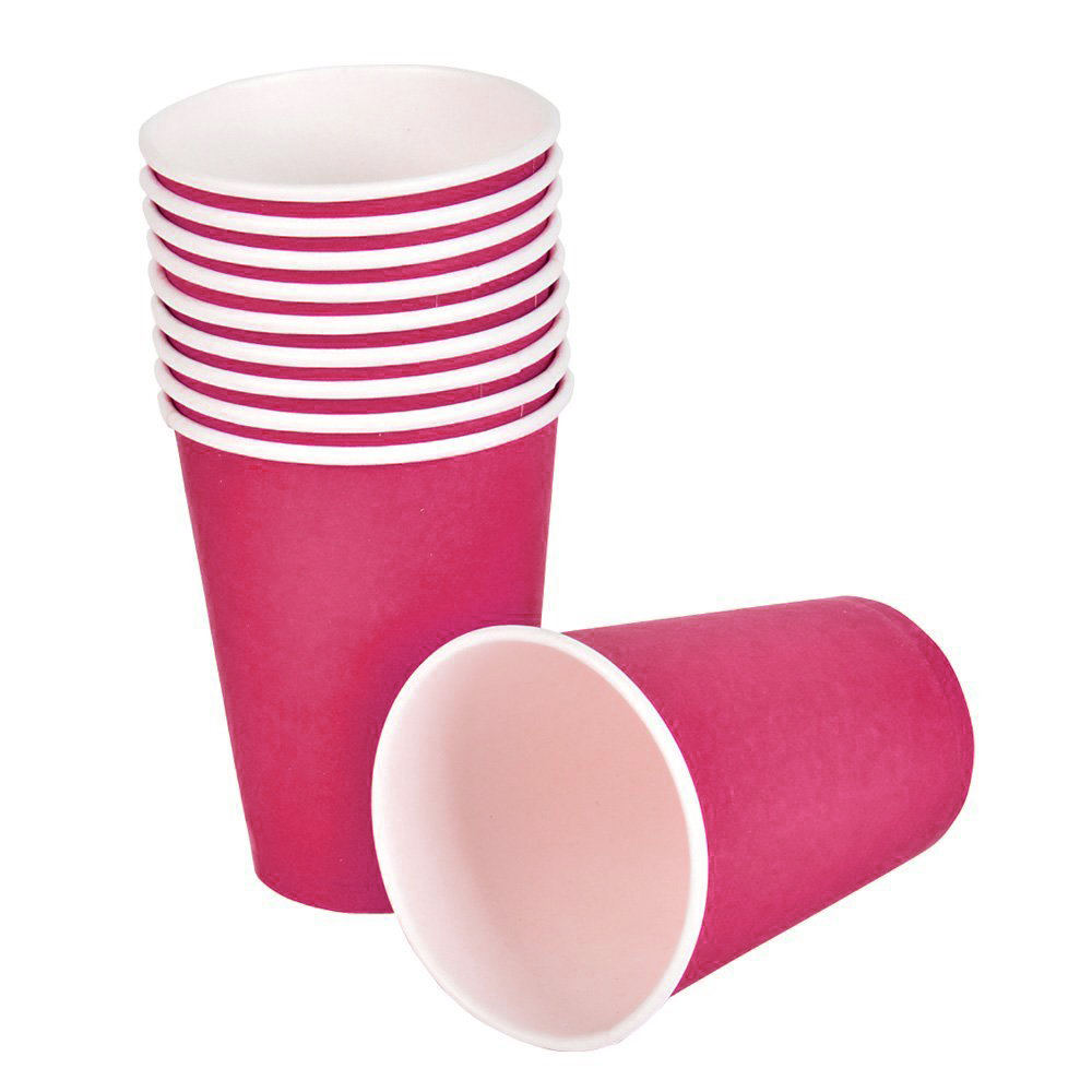 Red Paper Cups (25 pc)