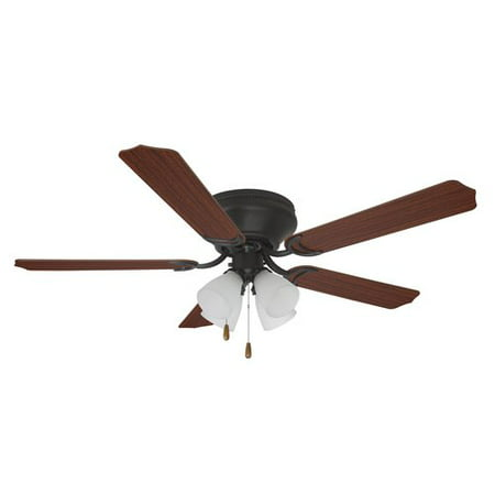 "52"" Mainstays Ceiling Fan With Light Kit"