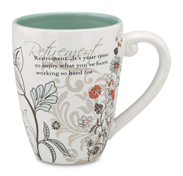 Pavilion Gift Company Mark My Words 66120 Retirement 20 oz Mug