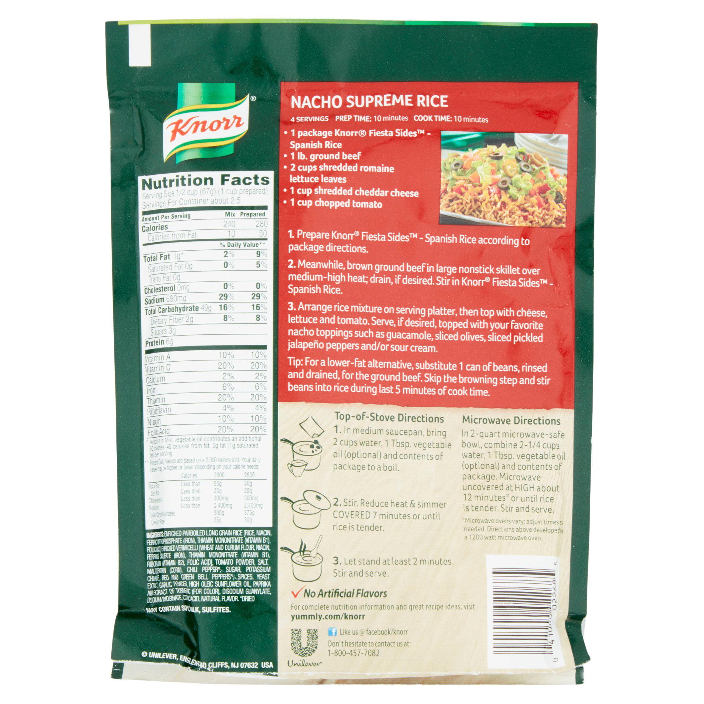 Spanish Rice Calories