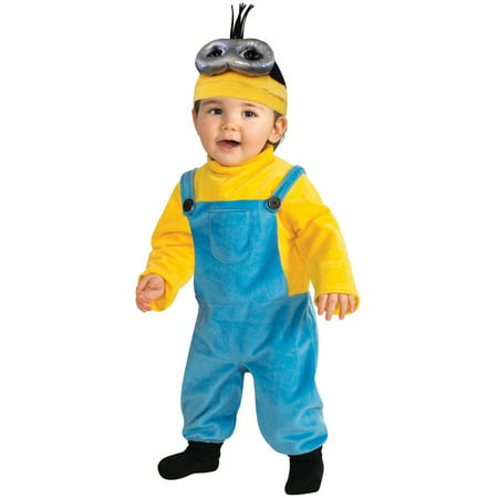 Minions Movie Kevin Toddler Halloween Costume, Size 3T-4T - Minion Costume Halloween