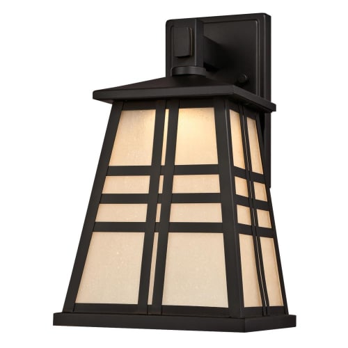 """Westinghouse 6339700 Creekview Single Light 12-13/16"""" Tall Integrated LED Outdoor Wall Sconce"""