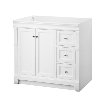 Foremost nawa3621d naples 36 w x 21 d vanity cabinet - Foremost bathroom vanity reviews ...