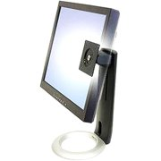 "Ergotron 33-310-060 Neo-Flex LCD Stand - Up to 16lb - Up to 20"" Flat Panel Display - Black, Silver"