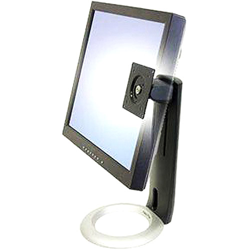 """Ergotron 33-310-060 Neo-Flex LCD Stand - Up to 16lb - Up to 20"""" Flat Panel Display - Black, Silver"""