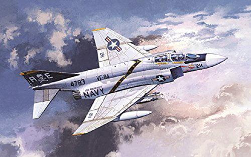 Image of ACA12305 1:48 Academy F-4J Phantom IIVF-84 Jolly Rogers [MODEL BUILDING KIT] Multi-Colored