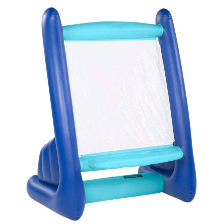Kid 39 s inflatable art easel with 4 paints 4 sponges 1 - Can you use interior paint outdoors ...