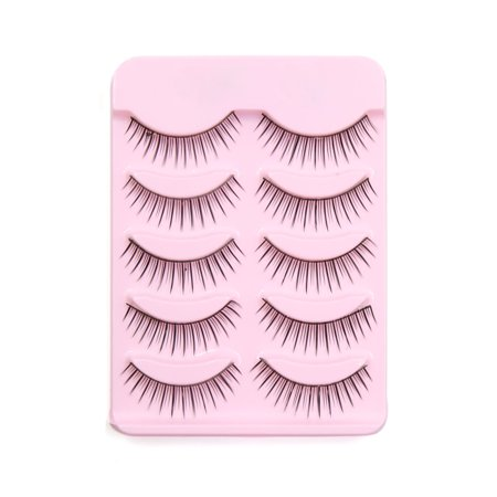 10 Pair Thick False Eyelashes Extension Eyes Beauty Makeup Tool #2 - image 2 de 3