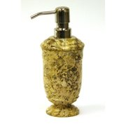 Nature Home Decor Fossil Stone Liquid Soap Dispenser