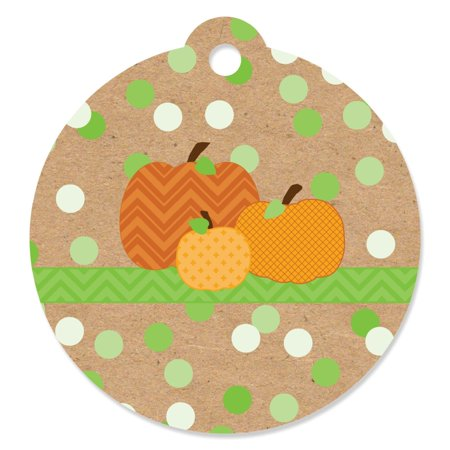 Pumpkin Patch - Fall & Halloween Party Favor Tags (Set of 20)](Halloween Cupcakes Shaped Pumpkin)