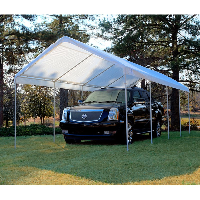 King Canopy 10 x 27 ft. Universal Canopy Carport