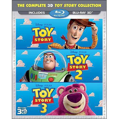 Toy Story 3D Trilogy (Toy Story 3D + Toy Story 2 3D + Toy Story 3 3D) (Blu-ray) (Widescreen)