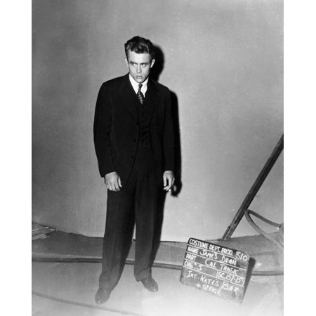 East Of Eden James Dean Wardrobe Test Summer 1954 Photo Print