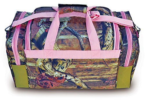 """Explorer Tactical Pink Mossy Oak Camouflage Sport Duffle Bag 20"""" Luggage by"""