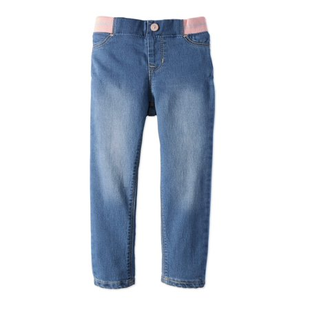 Jordache Knit Waistband Skinny Jeans (Toddler Girls)