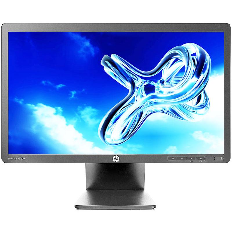 "Refurbished HP E201 1600 x 900 Resolution 20"" WideScreen LCD Flat Panel Computer Monitor Display"