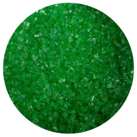 1 Lb Sweet - Emerald Green Sanding Sugar - 1 LB - National Cake Supply