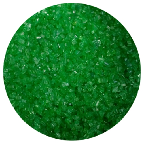 Emerald Green Sanding Sugar - 1 LB - National Cake Supply