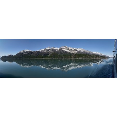 Reflection of Alaska Range in lake  Southeast Alaska  Alaska  USA Poster Print (36 x (Reflection Lake Alaska)