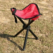 Forbidden Road Camping Stool Portable Seat Tripod Stool Chair Light Folding Hiking Fishing Travel Backpacking Outdoor Stool