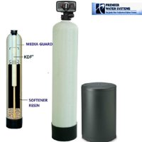 Whole House Water Softener & Conditioner With KDF 55 MediaGuard - City Water