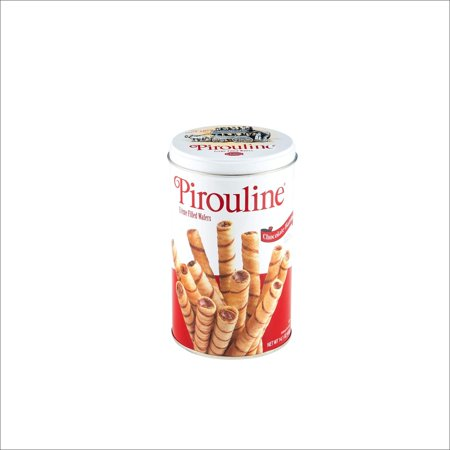 Pirouline Rolled Wafers - Chocolate Hazelnut - 14 oz Chocolate Roll Cookies